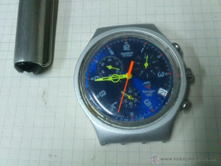 RELOJ SWATCH SWISS IRONY ALUMINIUM SYDNEY 2000 FUNCIONANDO (Relojes - Relojes Actuales - Swatch)