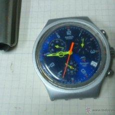 Relojes - Swatch: RELOJ SWATCH SWISS IRONY ALUMINIUM SYDNEY 2000 FUNCIONANDO. Lote 115480100