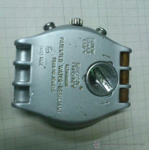 Relojes - Swatch: RELOJ SWATCH SWISS IRONY ALUMINIUM SYDNEY 2000 FUNCIONANDO - Foto 2 - 115480100