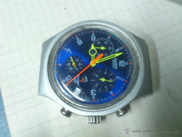 Relojes - Swatch: RELOJ SWATCH SWISS IRONY ALUMINIUM SYDNEY 2000 FUNCIONANDO - Foto 4 - 115480100