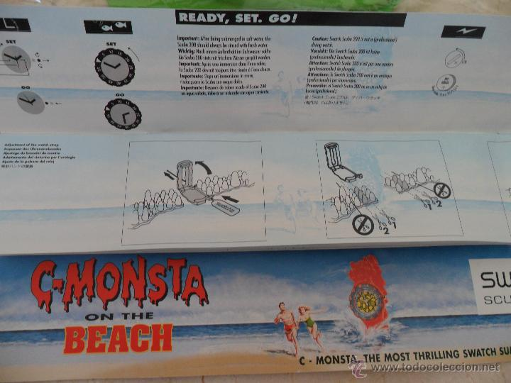 Relojes - Swatch: Swatch Scuba C-Monsta. Packaging Specials. - Foto 3 - 47243147