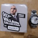 Relojes - Swatch: COLECCION 007 JAMES BOND-COLECCION VILLANOS-EMILIO LARGO-OPERACION TRUENO-IMPECABLE. Lote 47958174