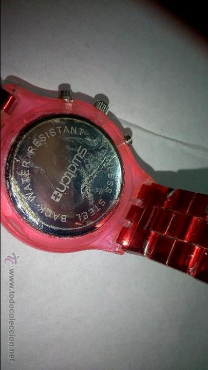 Relojes - Swatch: bonito reloj swatch. color rojo - Foto 4 - 48544571