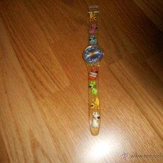 Relojes - Swatch: RELOJ SWATCH WOUAF DESCATALOGADO AÑOS 90 FUNCIONANDO. Lote 49673776