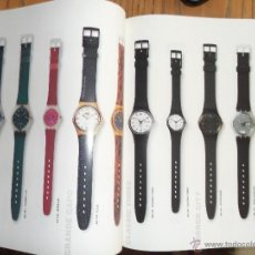 Relojes - Swatch: CATALOGO DE LOS RELOJES SWATCH. DESDE 1983 HASTA 1993. Lote 49925244