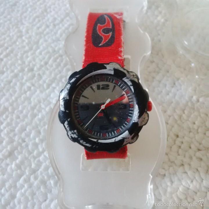 Relojes - Swatch: RELOJ FLIK-FLAK (SWATCH JUVENIL) ROJO - ESTUCHE ORIGINAL - Foto 3 - 56057199