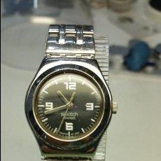 Relojes - Swatch: RELOJ DE SEÑORA SWATCH EN ACERO CON CORREA EN ACERO MODELO IRONY MEDIDAS 25 MM DE CAJA. Lote 56273074