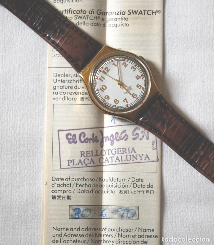 Relojes - Swatch: Lote de 2 relojes Swatch vintage de señora para colección (ver fotos adicionales) - Foto 4 - 67203049