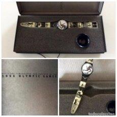 Relojes - Swatch: RELOJ DE COLECCIONISTA JAMÁS SACADO DE SU CAJA 1996 SWATCH OLYMPIC GAMES ANNIE LEIBOVITZ. Lote 73545075