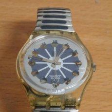 Relojes - Swatch: PRECIOSO RELOJ ANALOGICO SWATCH SWISS CABALLERO CORREA ELASTICA BUEN ESTADO FUNCIONAMIENTO PERFECTO . Lote 75004027