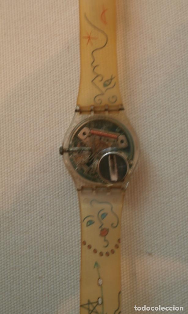 Relojes - Swatch: Reloj SWATCH marinero Frances AMORE diseño LINDSAY KEMP 1990 - Foto 2 - 76077139