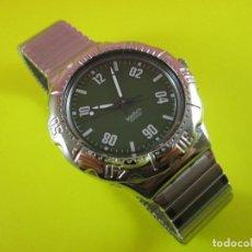 Relojes - Swatch: RELOJ-SWACTH AG 1966-SWISS-QUARTZ-COMO NUEVO-PRECIOSO-ESFERA VERDE-VER FOTOS.. Lote 76684251