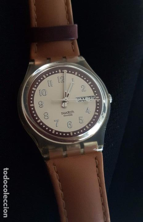 RELOJ SWATCH CROISSANT CHAUD GE700. AÑO 2003 (Relojes - Relojes Actuales - Swatch)