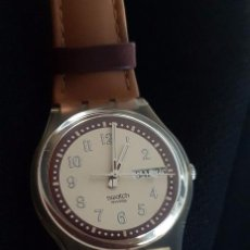 Relojes - Swatch: RELOJ SWATCH CROISSANT CHAUD GE700. AÑO 2003. Lote 81083676