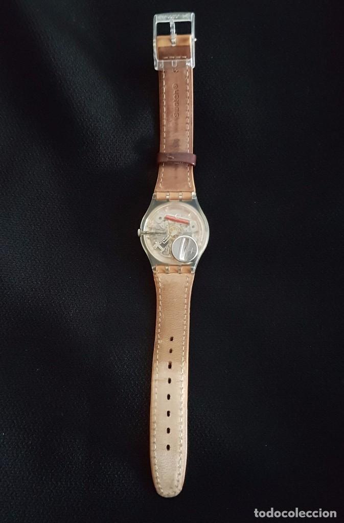 Relojes - Swatch: Reloj Swatch croissant chaud GE700. Año 2003 - Foto 5 - 81083676