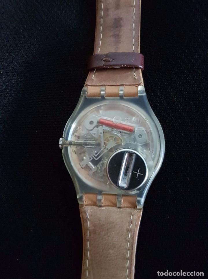 Relojes - Swatch: Reloj Swatch croissant chaud GE700. Año 2003 - Foto 6 - 81083676