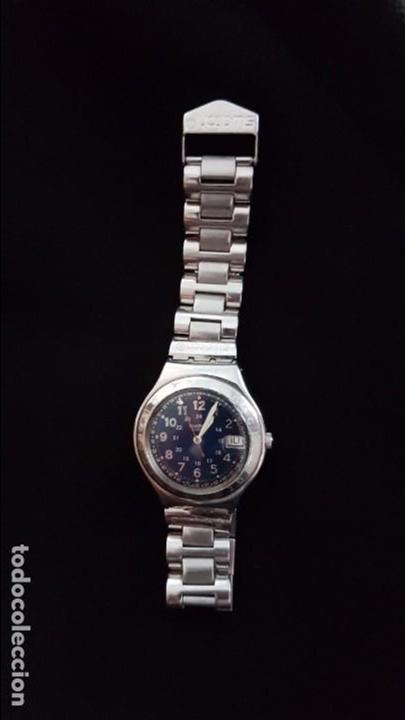 Relojes - Swatch: Reloj Swatch Happy Joe Blue. Año 1998 - Foto 5 - 81083788