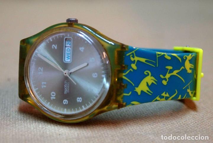 Relojes - Swatch: VINTAGE RELOJ SWATCH, FUNCIONA, 6549 - Foto 2 - 84787472