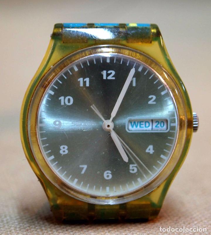 Relojes - Swatch: VINTAGE RELOJ SWATCH, FUNCIONA, 6549 - Foto 3 - 84787472