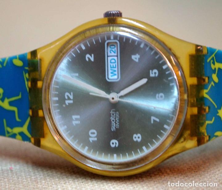 Relojes - Swatch: VINTAGE RELOJ SWATCH, FUNCIONA, 6549 - Foto 4 - 84787472