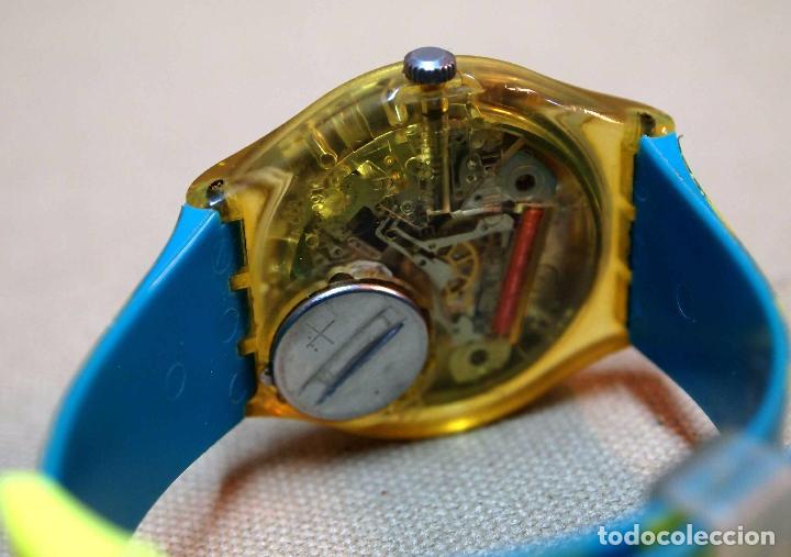Relojes - Swatch: VINTAGE RELOJ SWATCH, FUNCIONA, 6549 - Foto 6 - 84787472