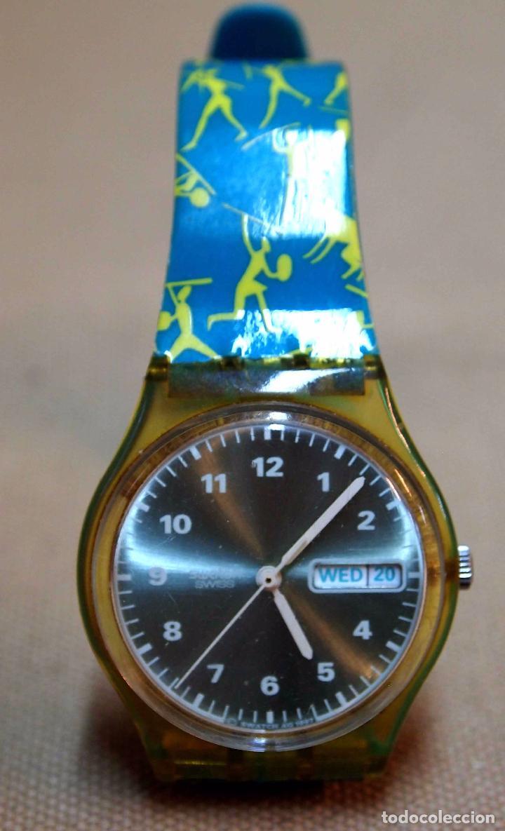Relojes - Swatch: VINTAGE RELOJ SWATCH, FUNCIONA, 6549 - Foto 7 - 84787472