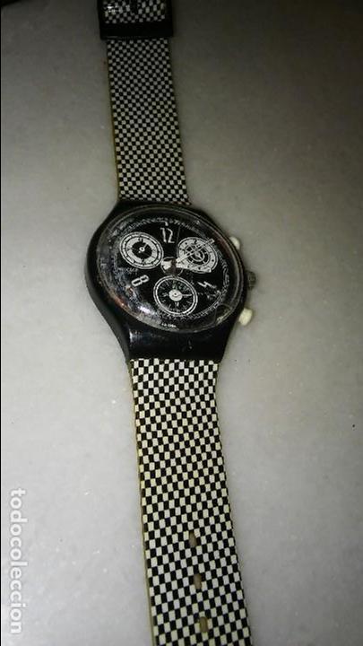 Venta Directa VintageVendido Chrono En 84763376 Swatch S5qRjcA34L