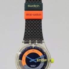 Relojes - Swatch: SWATCH STOP 1991 SSK100 NUEVO . Lote 92281205
