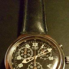 Relojes - Swatch: FORMIDABLE RELOJ SWSS SWATCH CRONOGRAFO IRONI ALUMINIO FUNCIONANDO PERFECTAMENTE DIÁMETRO 40MILIMTRO. Lote 95494159