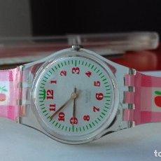 Relojes - Swatch: RELOJ SWATCH LADIES VINTAGE COLLECTION(2004)LK-237 STICKY SIRUP WATCH MONTRE NOS UHR NUEVO!!!. Lote 95749763