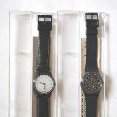 Relojes - Swatch: LOTE DE 2 RELOJES SWATCH VINTAGE DE CABALLERO PARA COLECCIÓN (VER FOTOS ADICIONALES). Lote 97521555