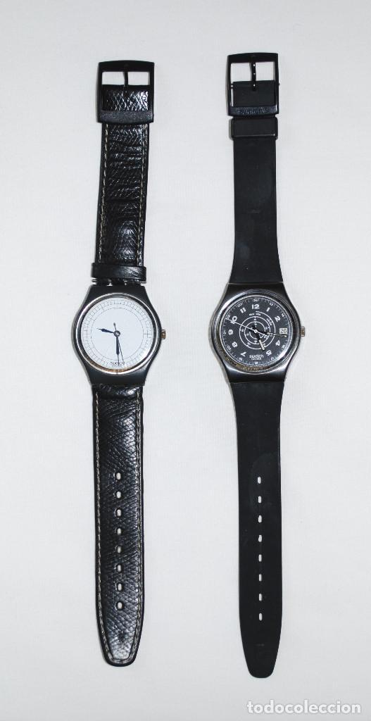 Relojes - Swatch: Lote de 2 relojes Swatch vintage de caballero para colección (ver fotos adicionales) - Foto 2 - 97521555