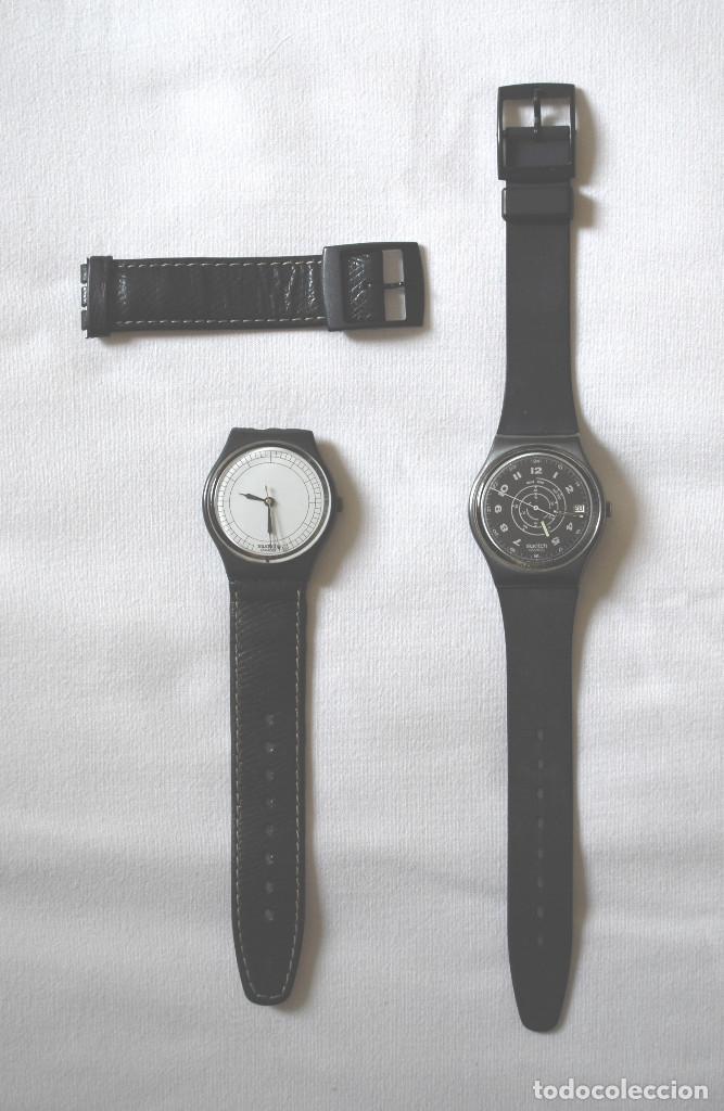 Relojes - Swatch: Lote de 2 relojes Swatch vintage de caballero para colección (ver fotos adicionales) - Foto 3 - 97521555
