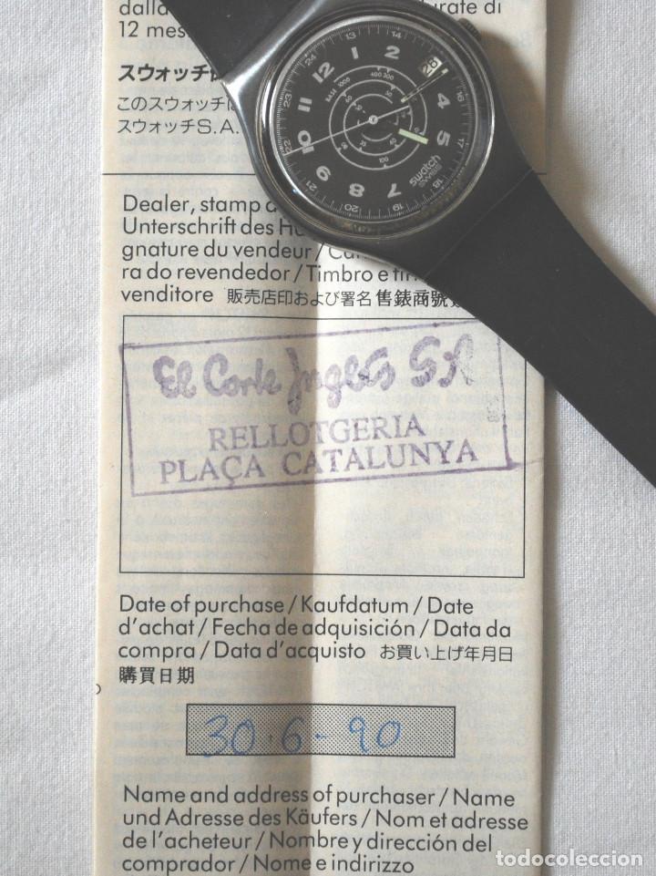 Relojes - Swatch: Lote de 2 relojes Swatch vintage de caballero para colección (ver fotos adicionales) - Foto 8 - 97521555