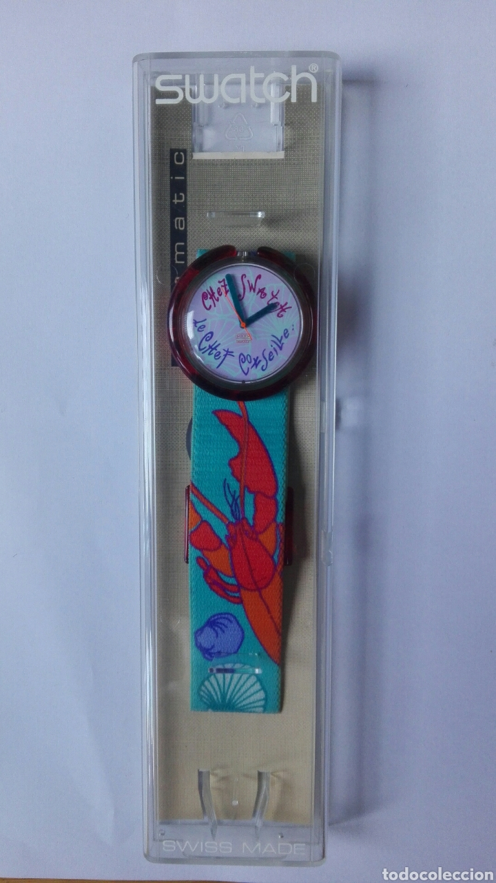 RELOJ SWATCH CHEZ LE CHEF CORSEILLE ( 1993) (Relojes - Relojes Actuales - Swatch)
