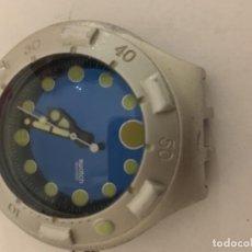 Relojes - Swatch: RELOJ SWATCH IRONY DE ALUMINIO EN FUNCIONAMIENTO LE FALTAN LA CORREA . Lote 103856535