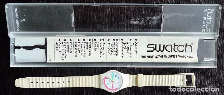 RELOJ SWATCH DE COLECCIÓN. FRUTTI. FABRICADO EN SUIZA POR SWATCH. AÑO: 1990. (Relojes - Relojes Actuales - Swatch)