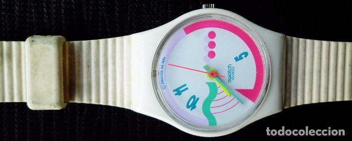 Relojes - Swatch: RELOJ SWATCH DE COLECCIÓN. FRUTTI. FABRICADO EN SUIZA POR SWATCH. AÑO: 1990. - Foto 2 - 104704119
