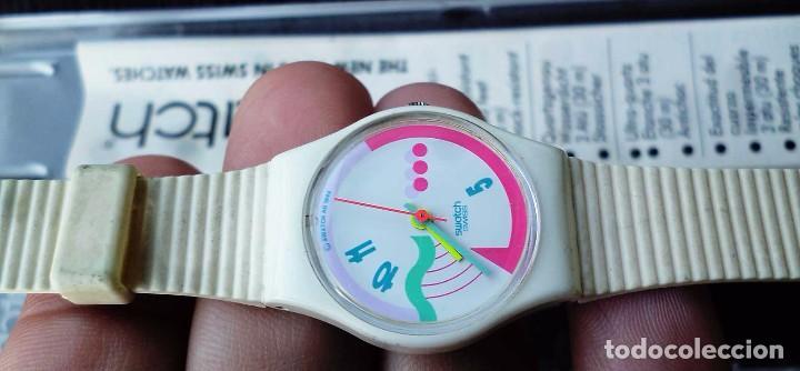 Relojes - Swatch: RELOJ SWATCH DE COLECCIÓN. FRUTTI. FABRICADO EN SUIZA POR SWATCH. AÑO: 1990. - Foto 5 - 104704119