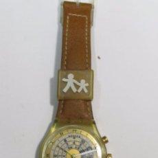 Relojes - Swatch: RELOJ SWATCH DE CUARZO (NO FUNCIONA) PARA PIEZAS. Lote 104804431