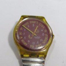 Relojes - Swatch: RELOJ SWATCH CON NÚMEROS DESORDENADOS. Lote 105034155