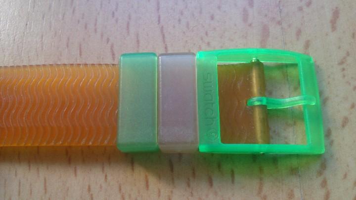 Relojes - Swatch: Reloj de colección Watch Swatch Scuba AG Chrono plástico verde - Foto 3 - 105168555