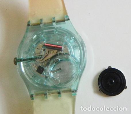 Relojes - Swatch: RELOJ DE PULSERA - SWATCH - #009 - ALEGRES COLORES - ALEGRE DISEÑO - FUNCIONA - MÁQUINA - Foto 5 - 106415627