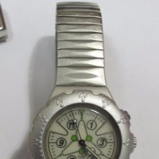 Relojes - Swatch: RELOJ DE ALUMINIO SWATCH, CUARZO. Lote 113433588