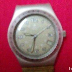 Relojes - Swatch: RELOJ DE LA MARCA SWATCH, FUNCIONA PERO HAY QUE PONER LA PILA. Lote 110370191