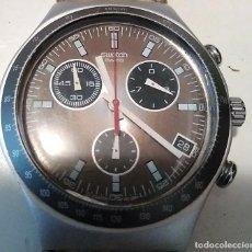 Relojes - Swatch: RELOJ SWATCH IRONY ALUMINIUM CRONÓGRAFO FUNCIONANDO. Lote 110810035