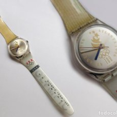 Relojes - Swatch: RELOJ SWATCH, SIN PILA, PERO FUNCIONA BIEN, OLYMPIC TEAM 1996. Lote 113509823