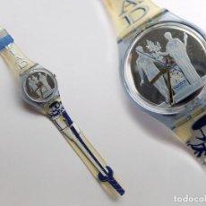 Relojes - Swatch: RELOJ SWATCH, SIN PILA, PERO FUNCIONA BIEN, OLYMPIAD ATLANTA 1996. Lote 113510631