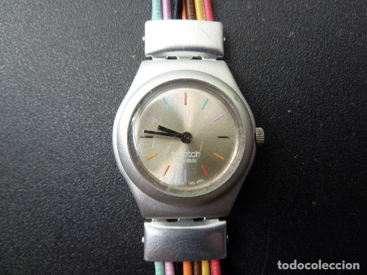 Relojes - Swatch: RELOJ DE PULSERA SWATCH IRONY ALUMINIUM PATENTED - Foto 2 - 114385271