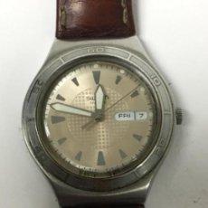 Relojes - Swatch: RELOJ SWATCH IRONY CON CORREA DE PIEL. Lote 102699479